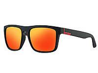 Солнцезащитные очки Polarized с поляризацией  Красный