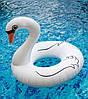 Надувной круг Лебедь, 120см., фото 4