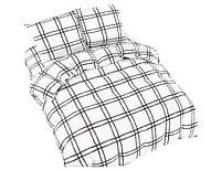 Комплект постельного белья NR 006 Oulaiya 4953 Белый, Черный