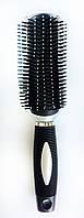 Массажная щётка для волос, 9-ти рядная,  22см