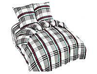 Комплект постельного белья NR 021 Oulaiya 4809 Зеленый, Серый, Красный