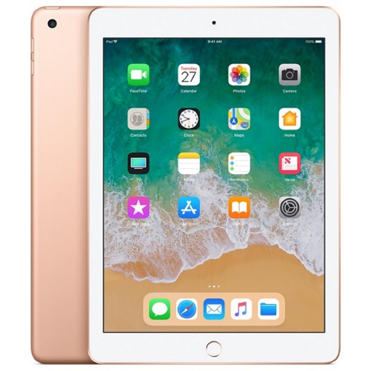 Планшет Apple iPad 2018 9.7 32GB Wi-Fi Gold (MRJN2)