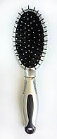 Массажная щётка для волос, овальная, с гребешком, (230 мм), фото 1