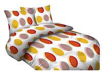 Комплект постельного белья 10 Faro 3462 Белый, Оранжевый, Желтый