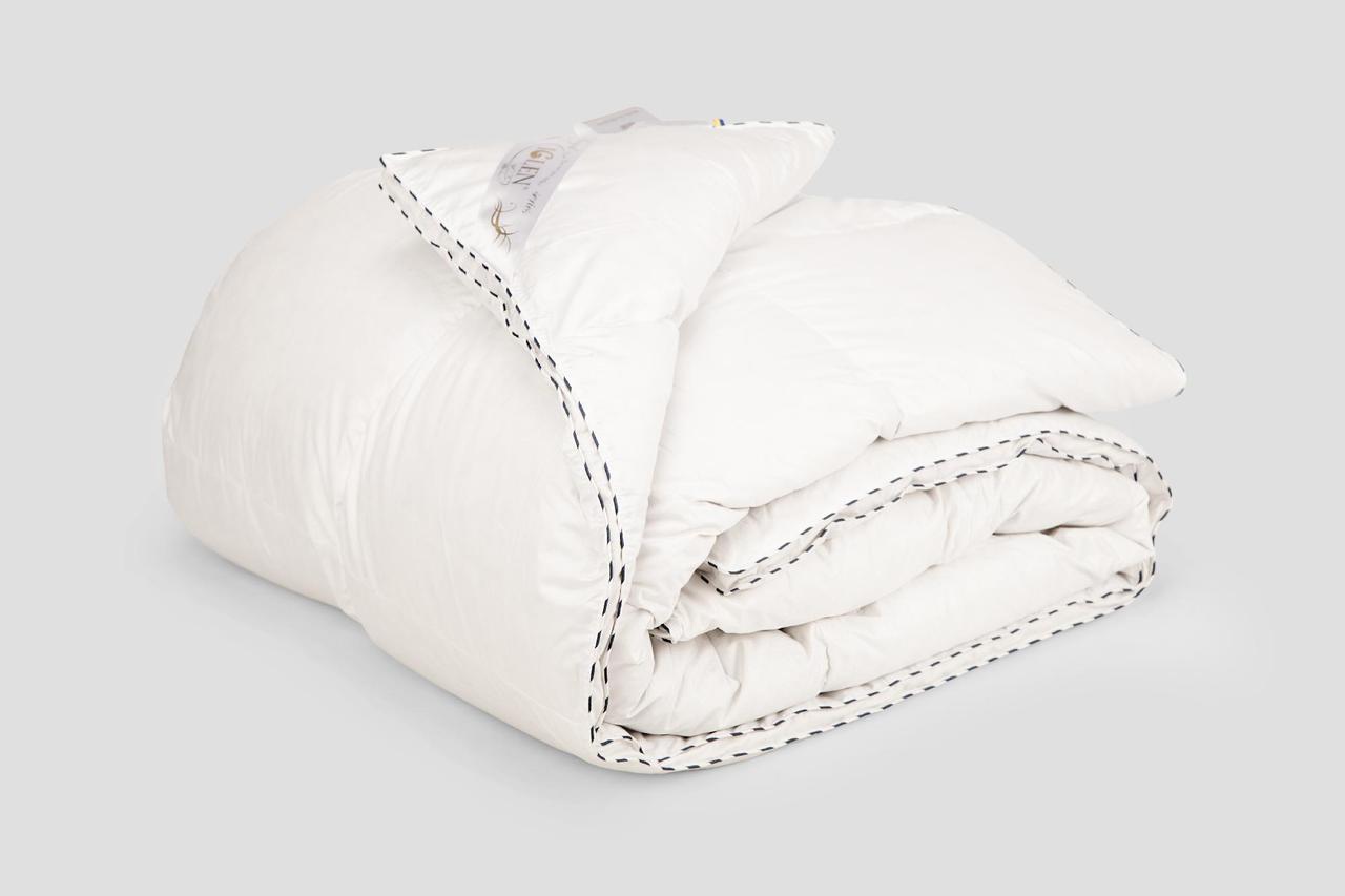 Одеяло IGLEN Roster Royal Series белый пух Зимнее 160х215 см Белый (1602151WRS)
