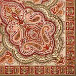 """Платок шерстяной с оверлоком """"Искорка"""", 89x89 см рис.1077-10, фото 2"""