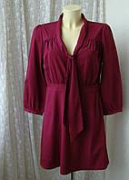 Платье женское легкое мини бренд H&M р.48, фото 1