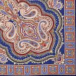 """Платок шерстяной с оверлоком """"Искорка"""", 89x89 см рис.1077-13, фото 2"""