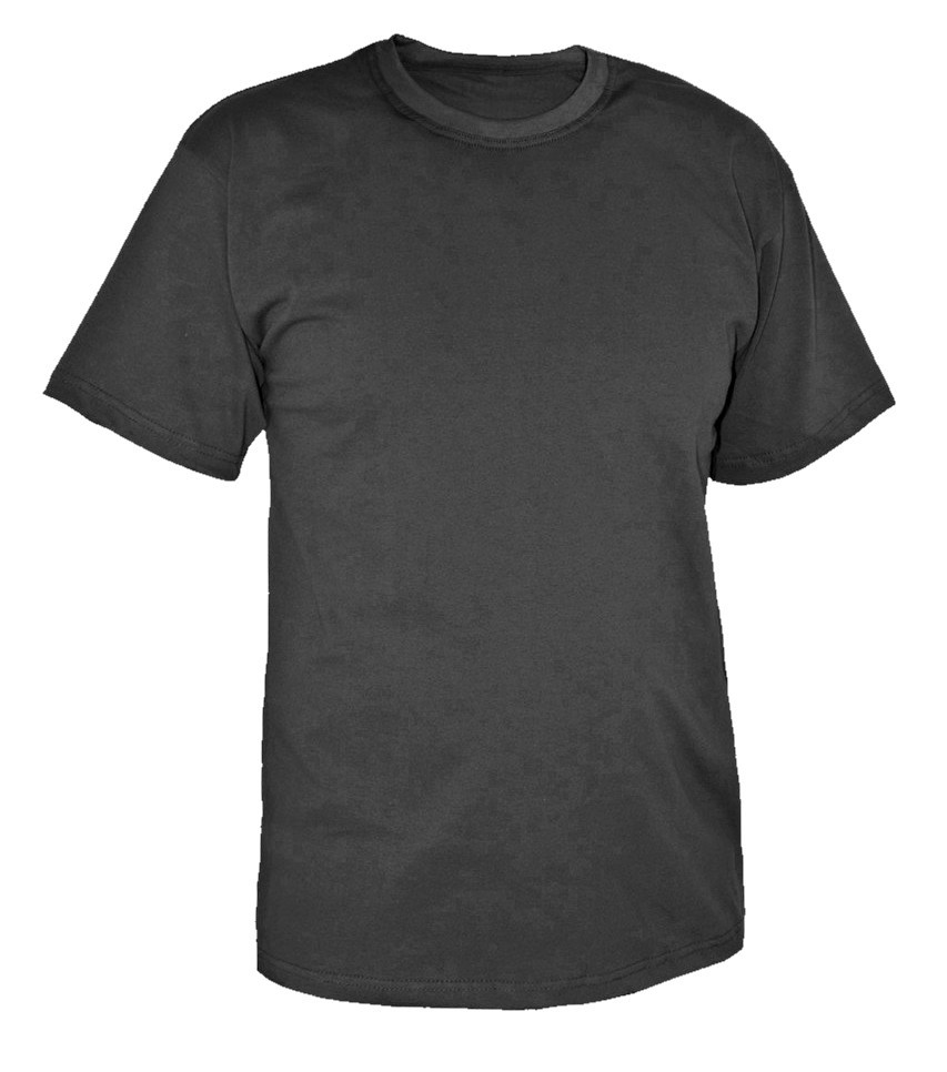 Футболка 44-56р черная ткань Лакоста