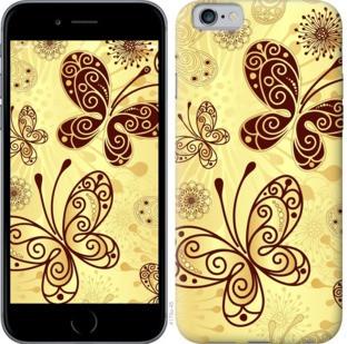 """Чехол на iPhone 8 Красивые бабочки """"4170c-1031-328"""""""