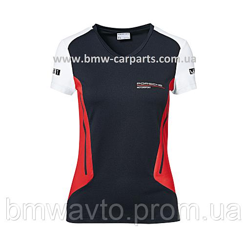 Женская футболка Porsche Women's T-shirt, Motorsport, фото 2