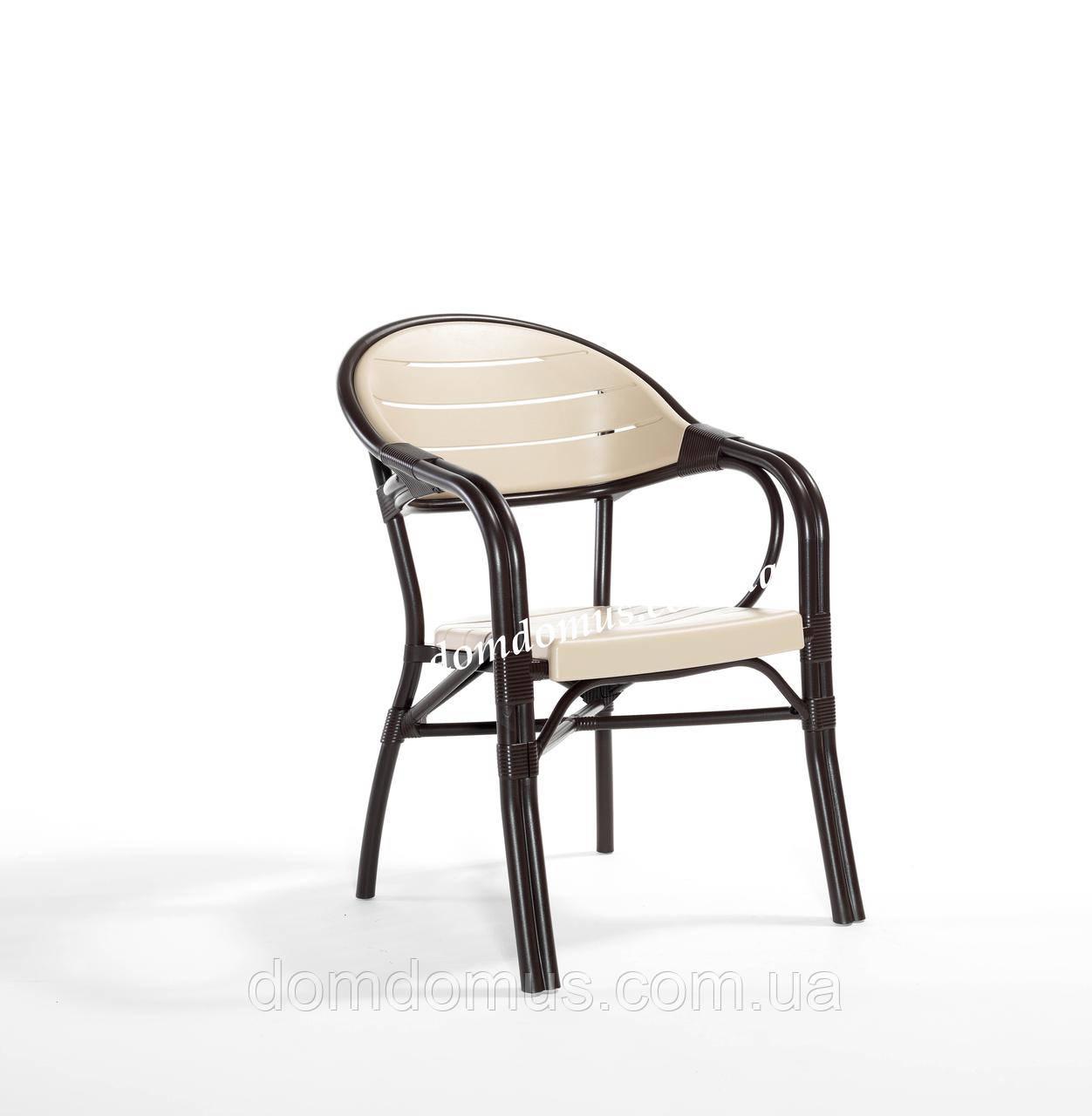 """Крісло високоякісного пластику """"Bamboo"""" Novussi, Туреччина"""