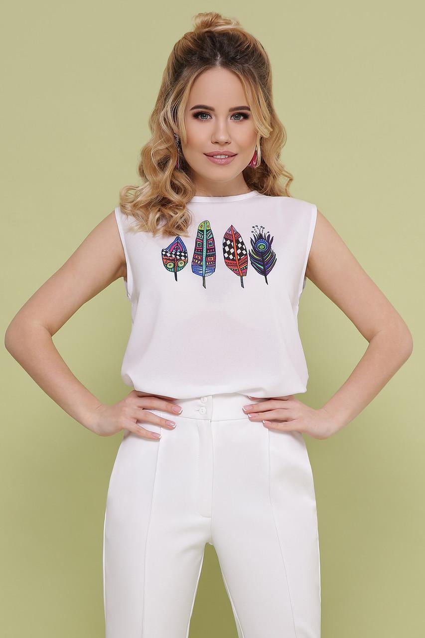 Женская футболка Перья Киви б/р