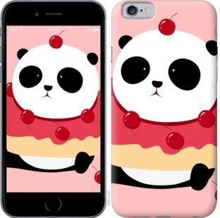 """Чехол на iPhone 8 Панда с пончиком """"3991c-1031-328"""""""