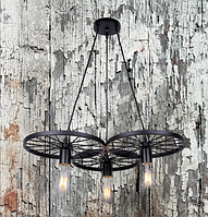 Лофт светильник 75990180-3 BK (черный,белый)