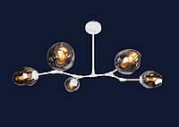 Люстра молекула 756LPR0231-5 WH+BK