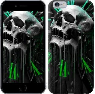 """Чехол на iPhone 8 Череп-часы """"4100c-1031-328"""""""