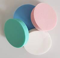 Спонжики круглые цветные 4 шт
