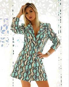 Женское платье пиджак. Размеры s m l. Турция