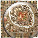 """Платок шерстяной с оверлоком """"Аленький цветочек"""", 89x89 см рис.797-2, фото 2"""