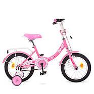 Стильный велосипед для девочек 14 дюймов PROF1 Y1411 Princess Гарантия качества Быстрая доставка, фото 2
