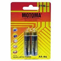 Аккумулятор МОТОМА 2700 mAh NiMH 1.2 V AA - R6, фото 1