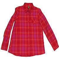 Рубашка United Colors of Benetton 140 см Розово-красная (5AB15Q740 012)
