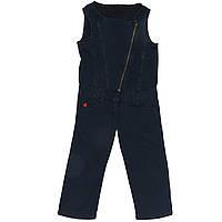 Комбинезон Sisley джинсовый 130 см Темно-синий (4P7RY8012 SY)