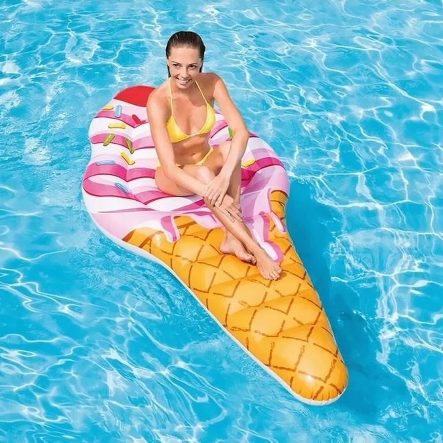 Надувной матрас-плот Intex 58762 Мороженое Рожок