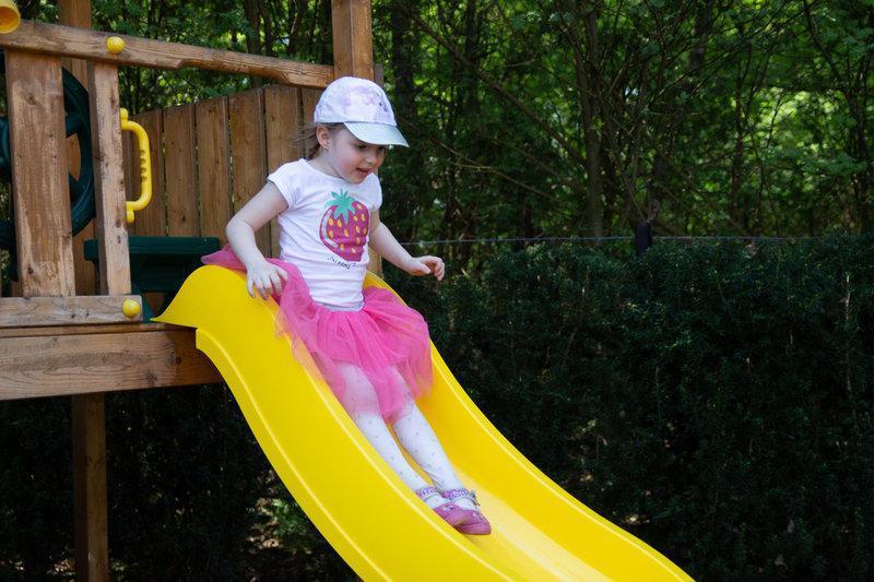 Горка детская HAPRO (Голландия) 3 м желтая с возможностью подключения воды