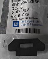 Буфер (демпфер , уплотнитель, втулка) защитного колпака крышки головки блока цилиндров (ГБЦ) сверху GM 0607812 90412868 OPEL Astra-F/G/H Zafira-A/B