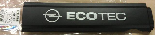 Крышка (накладка) декоративная с логотипом OPEL крышки головки блока цилиндров (ГБЦ) GM 0638062 9129759 OPEL Astra-G Astra-H Corsa-C Corsa-D Meriva-A