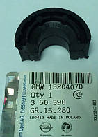 Втулка (резинка , вкладыш , подшипник) переднего стабилизатора верхняя (d=24-25.5 mm) GM 0350390 13204070 OPEL