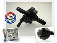 Клапан соединитель (2 x 8,5 mm) обратный вакумный (вакумного усилителя тормозов) 3-х (трёх) канальный GM 0564609 90497004 OPEL Astra-F Vectra-B