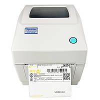 Термопринтер этикеток Xprinter XP-460B наклеек Новой почты штрих-кода 112