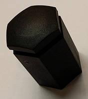 Колпачок (крышка , чехол) чёрный пластмассовый (пластиковый) с шестигранной головкой (L= 32 mm) на болт крепления колеса GM 1008208 90342772 OPEL
