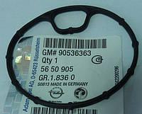 Прокладка (уплотнение, кольцо уплотнительное) корпуса масляного фильтра GM 5650905 90536363 для моторов X18XE1 Z18XE Z18XEL до № двигателя -20V00604