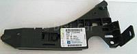 Направляющая  (кронштейн крепления, опора, рейка) переднего бампера левая (соединяет передний бампер с левым крылом и подкрылком) GM 1406061 13182955