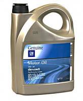 Масло моторное синтетика SAE 5W-30 5 литров канистра (NEW) dexos2 GM 1942003 93165557 OPEL (ДЛИТЕЛЬНОГО ДЕЙСТВИЯ) (GMW16177, ACEA A3/B4/C3, API SM/CF)