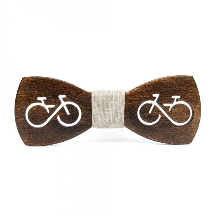 Темная деревянная бабочка Gofin wood Велосипед Темно-коричневая (Gbdh-8240)