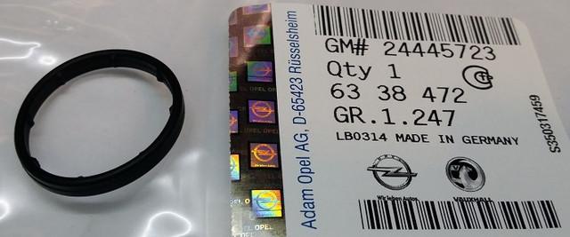 Прокладка (кольцо,уплотнение в.д. 25.5 mm) выпускной трубки теплообменника (радиатора охлаждения масла двигателя) к корпусу масляного фильтра GM