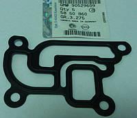 Прокладка (металлическая) клапана рециркуляции отработанных газов (EGR) к выпускному коллектору GM 5850860 90529609 OPEL Astra-G Agila-A Corsa-B