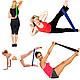 Резинка для фитнеса и спорта Esonstyle (эластичная лента эспандер) набор 5 шт + Чехол в комплекте, фото 7