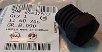 Буфер (регулировочный) упор (опора, отбойник) капота резиновый передний GM 1160706 24437833 OPEL Vectra-C & Signum Opel 1160706