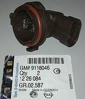 Патрон (цоколь, гнездо, держатель, крепление) лампы H7 ближнего света фар GM 1226084 9118046 OPEL Astra-G CLAS