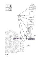 Прокладка корпуса масляного фильтра GM 0650953 90530264 Z10XE Z10XEP Z12XE Z12XEP Z14XEL Z14XEP OPEL Astra-G Astra-H Agila-A Corsa-B Combo Corsa-C