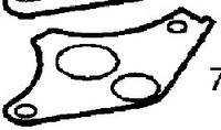 Прокладка (металлическая) клапана рециркуляции отработанных газов (EGR) GM 0851761 0850527 12570863 12567327 OPEL Astra-G Zafira-A Vectra-B Vectra-C