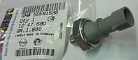 Датчик давления масла одноконтактный M10 x 1 mm (на лампочку давления масла на щитке приборов) GM 1247680 1238696 1252555 1252573 6240262 ADAM AGILA-A