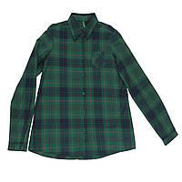 Рубашка United Colors of Benetton 150 см Зеленая (5AB15Q740)