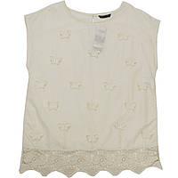 Блуза Sisley 160 см Бежево-молочная (5TJ25Q2W2 SY)
